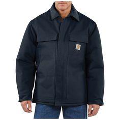 Carhartt Work Jacket Waterproof Breathable Rain Men'S XX-Large Tall Olive Nylo