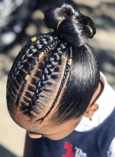 Can You Ignore These 75 Black Kids Braided Hairstyles? - Curly Craze Can You Ignore These 75 Black Kids Braided Hairstyles? Black Kids Braids Hairstyles, Teenage Hairstyles, Baby Girl Hairstyles, Natural Hairstyles For Kids, Black Girl Braids, Cute Hairstyles, Children Hairstyles, Lil Girl Hairstyles Braids, Black Little Girl Hairstyles