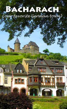 Bacharach, our favorite German town. More here: http://bbqboy.net/guide-on-bacharach-our-favorite-german-town-and-highlights-of-the-rhine/ #bacharach #germany