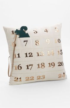 Advent Pillow Cover