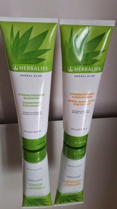 Herbalife Aloe Strengthening Shampoo and Conditioner -