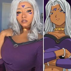 Remember the legendary cosplayer Alyson Tabbitha? Well, it looks like she has competition. Looking at the transformations by Unique Sora (aka Jasmine), I can't decide if they're cosplay or identity thefts. Cosplay Anime, Cute Cosplay, Amazing Cosplay, Cosplay Outfits, Best Cosplay, Cosplay Girls, Cosplay Costumes, Cosplay Ideas, Black Girl Halloween Costume