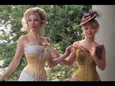 Historical Lingerie & Corset Dressing Sequence - Lace Embrace @Melanie Talkington @The Lingerie Addict