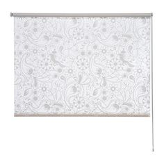 LISELOTT Roller blind IKEA Wall fitting for the blind cord; for increased child safety. Macey's Room
