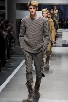Fendi Fall 2013 Menswear Collection Slideshow on Style.com