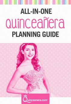 Planning your Quinceanera? Take a look at our planning guide before you start planning your quince