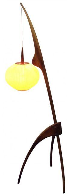 Lampe en cuivre 2 lumières H74cm Cuivre/Noir - Tween - Les lampes à