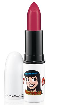 "MAC Cosmetics Archies Girls Lipstick RonnieRed - ""OMG STOP I COLLECT ARCHIE COMICS. THIS IS A DREAM COME TRUE."""
