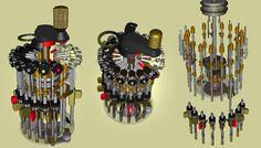 curta mechanical calculator engineering