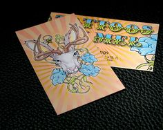 Silk Finished Business Card w Full Color Front and Back #business #card #businesscard #business_card