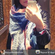 Repost from @chautkolahshow using @RepostRegramApp - Allez on ressort le beau foulard bien chaud et trop stylé👌🏻 #bonnejournee #fashion #instadaily #instafashion #photooftheday #paris #lookoftheday #dailylook #ootd #automne