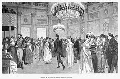 Inch Print (other products available) - ALMACK& CLUB, Member of English high society in the ballroom of Almack& Assembly Rooms in London, England, during the Regency. Line engraving, - Image supplied by Granger Art on Demand - print made in the UK Fine Art Prints, Framed Prints, Canvas Prints, Framed Wall, Room London, Regency Era, High Society, Historical Romance, Gravure
