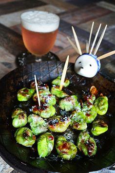 旬のおつまみ野菜。 そら豆のガーリックパルミジャーノ焼き by 青山 ...