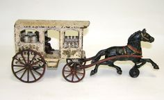 Horse Drawn Wagon, Goat Milk Soap, Cast Iron, Eagle, Barn, Delivery, Horses, Fine Art, Toys