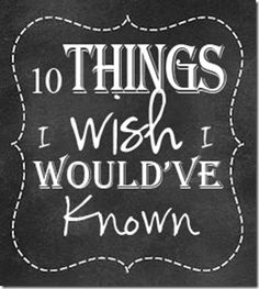 10 Things I wish I would've known before homeschooling! http://www.confessionsofahomeschooler.com/blog/2015/03/things-i-wish-i-wouldve-known.html