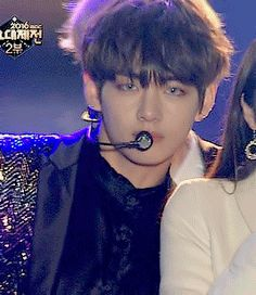 Seductive and playful eyebrow raising game by taehyungie