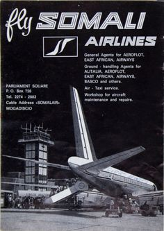 Somali Airlines advertisement