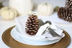 Thanksgiving Table Idea + Simple DIY | Ashlee Proffitt