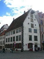 Baltijas Valstis (a balti államok): Riga – Óváros (Vecrīga)  Metzendorf ház