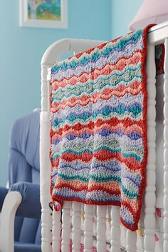 I'm thinking this will be the blanket pattern I use for baby #3!