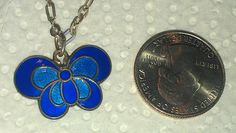 Vintage David Andersen Norway Sterling 925s Blue Enamel Butterfly Necklace   Jewelry & Watches, Vintage & Antique Jewelry, Costume   eBay!