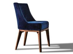 Upholstered fabric chair with removable cover 430 OPERA | Chair - Vibieffe