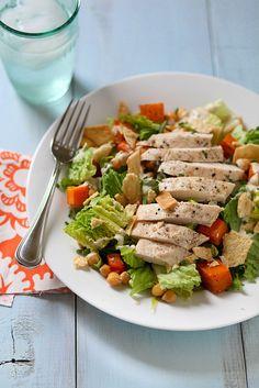 butternut squash chickpea salad by annieseats, via Flickr