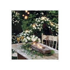The Enchanted Garden ❤ liked on Polyvore