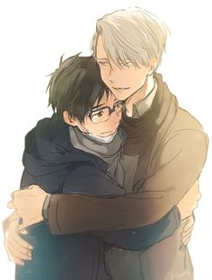 Anime challenge day 2/30 (part 1/3): Yuri on ice is my current obbsession, i just fangirl from hearing the name XD... however i cant choose just one as my favorite... there are other animes i love too