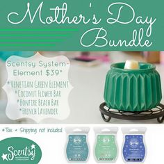 Who needs a #mothersday gift idea? This bundle looks scentsational ;) https://casies.scentsy.us/Buy/Category/2160 #justawickaway #scentsy