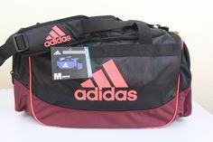 adidas defense medium duffel sport gym bag 24