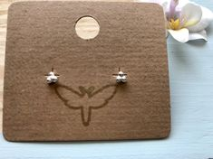 Tiny Stud Earrings, Cute Earrings, Pillow Box, Earring Set, Gifts For Her, Delicate, Hummingbird, Earrings Handmade, Balls
