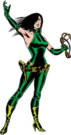 Viper II - Marvel Comics - Ophelia Sarkissian - Terrorist. From Steranko's incredible, classic Cap issues.