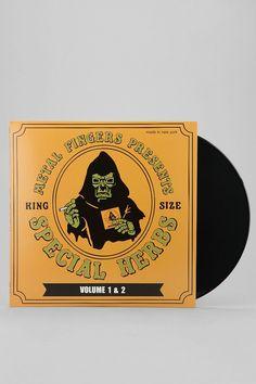 "MF Doom - Special Herbs Vol. 1 & 2 2XLP+7"""