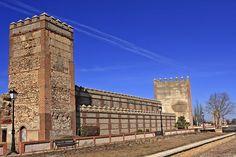 Avila Madrigal de las Altas Torres tramo de muralla