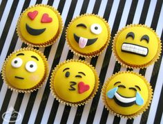 These Emoji Cupcake Toppers Will Make You | Welcome to the Craftsy Blog! | Bloglovin'