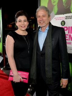 """LOS ANGELES, CA - FEBRUARY 04: Producers Jillian Preger DeFrehn (L) and Michael Preger arrive at The Weinstein Company's premiere of """"Vampire Academy"""" at Regal 14 at L.A. Live Downtown on February 4, 2014 in Los Angeles, California. (Photo by Charley Gallay/Getty Images for The Weinstein Company) 2014 Getty Images"""