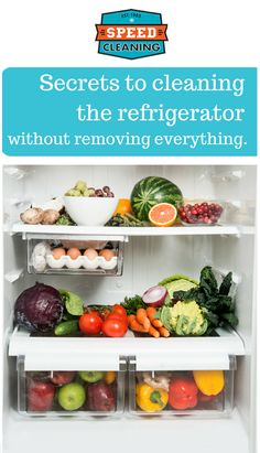 Kitchen cleaning tip: clean your refrigerator without removing everything Speed Cleaning, Cleaning Hacks, Cleaning Supplies, Cleaning Products, Clean Refrigerator, Clutter Control, Remove All, Getting Rid Of Clutter, Declutter Your Life