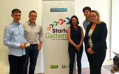 GO Car Ireland drop in to talk about collaboration opportunities with the Startup Gathering