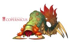 Copernicus Art - Chilopede by *nicholaskole on deviantART