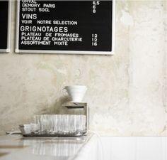 Coutume Café, Paris.