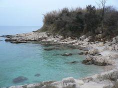 Sea coast west from Savudrija