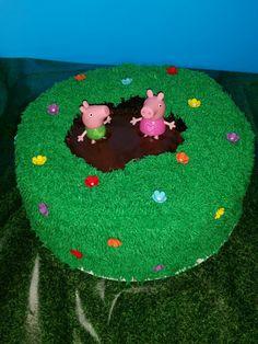 Peppa Pig Cake made by Melanie Harris
