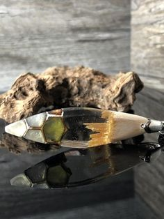 Wood epoxy jewelry, wood necklace with resin, bohemian jewelry, gift ______. - Jewelry Resin - Welcome Epoxy