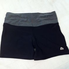 Live Life Strong Shorts Excellent exercise shorts. Tag says L. They fit a M. Last photo is of the back. RBX Shorts