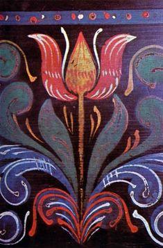 Bútorfestés Részletek ládákról. Szeremle (Bács-Kiskun m.) XVIII. sz. második fele. Néprajzi Múzeum, Budapest Tole Painting, Painting On Wood, Canal Boat Art, Painted Wooden Boxes, Norwegian Rosemaling, Arabic Pattern, Painted Chest, Mandala, Folk Embroidery