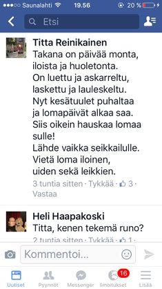 Uppo-Nallen runoja, kirjoittanut Elina Karjalainen | Runoja | Pinterest
