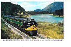 Northern Pacific Railroad North Coast Limited 1950   eBay