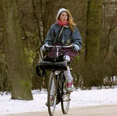 Winter Cycle Wonderland by Amsterdamized, via Flickr