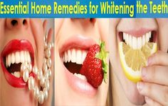 Top Ten Home Remedies To Whiten Teeth -  Shinning white teeth can make you look so much more attractive and younger, Teeth discoloring could be a result of aging, consuming discoloring or acidic foods or drinks like coffee and tea , lake of teeth hygiene, Mainly people seek professional treatments to get rid of teeth discoloring,...